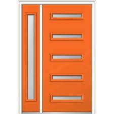 modern front door orange. 48 Modern Front Door Orange