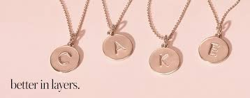 kate spade letter necklace 2018 template initial