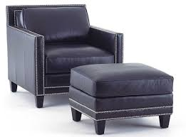 blue leather chair. Epic Blue Leather Chair And Ottoman 65 For Your Home Kitchen Design With I