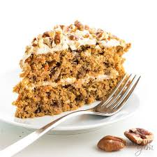 Low Carb Keto Sugar Free Carrot Cake Recipe With Almond Flour