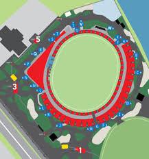 Gold Coast Suns Stadium Map