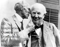 Innovation Quotes Delectable 48 Inspirational Quotes On Leadership And Innovation Agents Of CHANGE