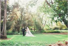an etherial wedding at the la arboretum