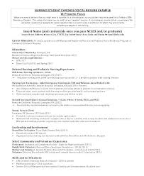 Nursing Student Resume Examples Registered Nurse Student Resume ...