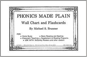 Amazon Com Phonics Made Plain Wall Chart And Flashcards
