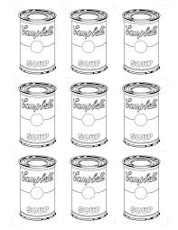 Coloring Pages Andy Warhol Coloring Pages Forandy Free Phenomenal