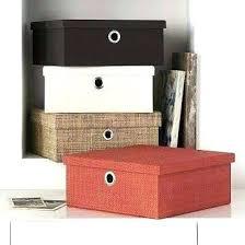 office storage baskets. Decorative Office Storage Boxes Impressive Baskets Best Bins N