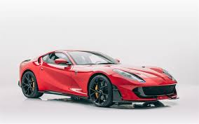 Download Wallpapers Ferrari 812 Superfast 2020 Mansory Front View Red Sports Coupe Tuning New Red 812 Superfast Black Wheels Italian Sports Cars Ferrari For Desktop Free Pictures For Desktop Free