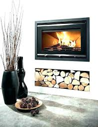 gas fireplace inserts glass beads screens crate and barrel