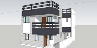 front home design. Front Elevation Model Of House - GharExpert Home Design