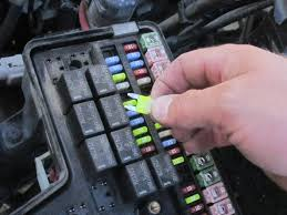 2002 2008 dodge ram 1500 fuse replacement 2002 2003 2004 2005 image 2 2 be sure to replace each blown fuse a fuse of