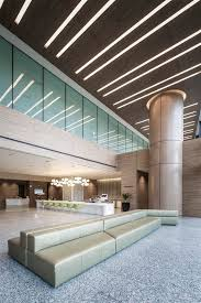 ceiling design for office. lobby entrance ceiling design at the farrer park hospital singapore by dp for office