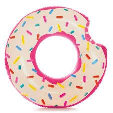 <b>Надувной круг Intex</b> Пончик 107х99см 59265 купить в интернет ...