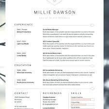 Cv Resume Template – Andaleco
