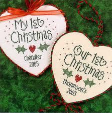 Christmas Cross Stitch Charts 1st Christmas Cross Stitch Chart