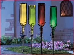 creative outdoor lighting ideas. Creative Outdoor Lighting » A Guide On Painted Wine Bottle Ideas