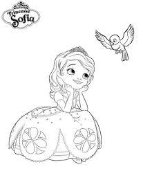 Coloriage A Imprimer Princesse Sofia Reveuse Gratuit Et Colorier Imprimer Coloriage Princesse Sofia L