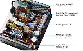 cooler master v double layer emi filter