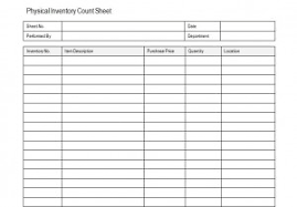 inventory count sheets inventory count sheet physical inventory count sheet