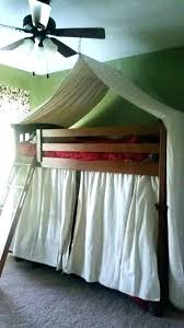 Bunk Bed Tent Canopy Bed Canopy Bed Tent Kids Bed Canopy Bunk Bed ...