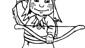 indian coloring book chief boy ilration coloring pages page free printable coloring pages free coloring page indian coloring book coloring pages