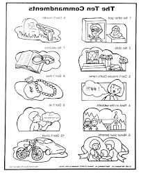 Coloring Pages Ten Commandments Coloring Pages For Toddlers Ten