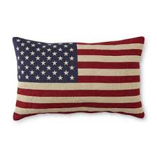 Rectangle Pillow American Flag