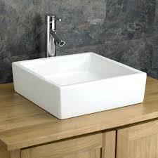 deep bathroom sink. Deep Bath Sinks Square Bathroom Sink Contemporary Looking Elegance 12 Inch Vanity