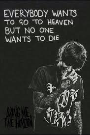 Bring Me The Horizon Quotes Awesome Hospital For Souls Bring Me The Horizon Lyrics Pinterest Bmth
