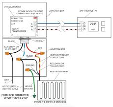 third party control integration relay built in transformer 120v wiring diagram for floor heating relay built in transformer 120v