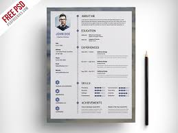 free cv template download with photo best free resume templates for designers
