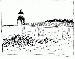 Small Picture Coloring Pages Lighthouse Coloring Page Free Printable Coloring