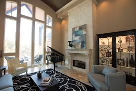 Transitional Living Room Decorated With Piano The Corner Part