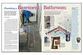 adding a basement bathroom. Adding A Basement Bathroom Is Just Like Bath Anywhere Else In The House\u2014except For Cutting Through Basement\u0027s Concrete-slab Floor. I