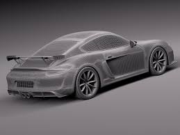 2018 porsche cayman gt4. interesting gt4 12 porsche cayman gt4 2016 royaltyfree 3d model  preview no on 2018 porsche cayman gt4 r