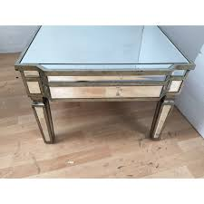 Mirrored Trunk Coffee Table Vintage Style Coffee Table Coffee Tables Thippo
