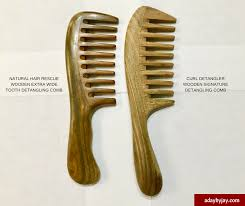 natural curls club wide tooth detangling comb benefits gently remove shedding knots