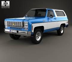 Blazer chevy blazer 2011 : Chevrolet K5 Blazer 1976 3D model - Hum3D