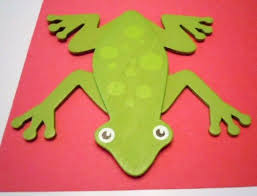 tree frog template use this as template for tree frog children choose own colours and