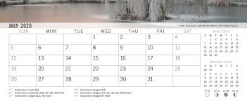 Academic Calendar 2020 17 Template Blueocean Calendars