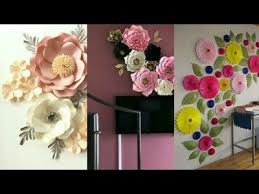 Paper Rosette Flower Flower Easy Paper Rosette Flower For Room Decoration Easy Paper