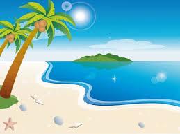 cartoon beach backgrounds