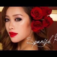 makeup spanish rose by mice phan