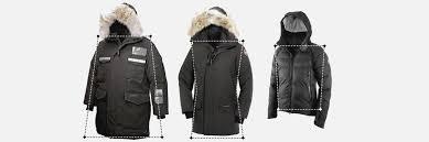 Canada Goose Branta Jacket Size Chart Canada Goose Jackets
