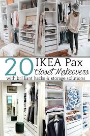 diy ikea closets in our master using