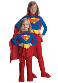 supergirl fancy dress costume for kids