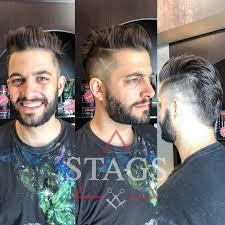 Funny Facial Hair Designs Fun Trends At Stags Stags Fine Men Salon Fine Men Hair