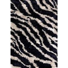 Italian modern design Zebra rug by Sitap