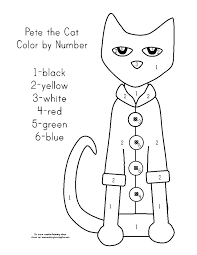 Pete The Cat Halloween Coloring Pages The Cat Coloring Book Cat