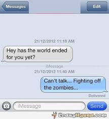 Funny iPhone message conversation